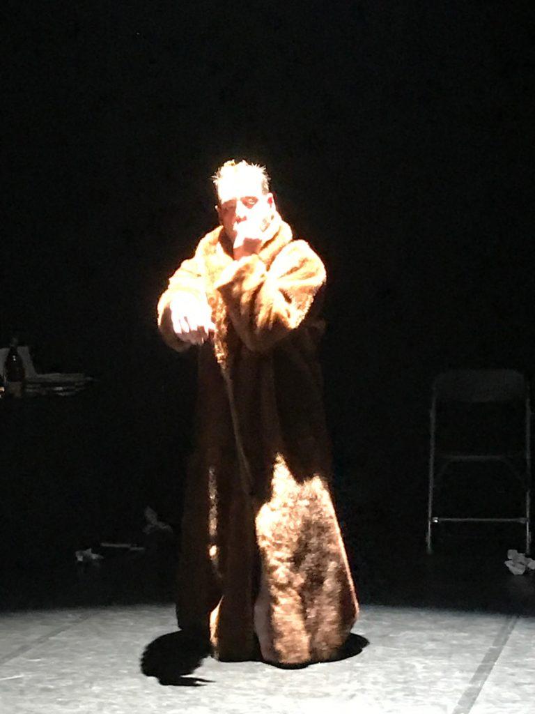 Clôture du Festival Artdanthé 2019 : mise à nu et performance d'Olivier Dubois