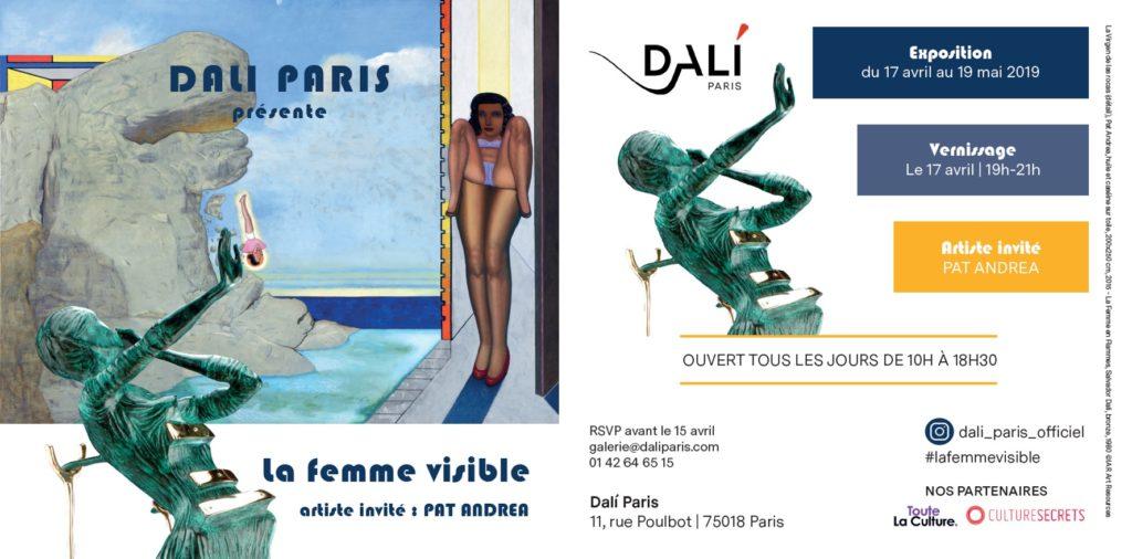 Pat Andrea dialogue avec Salvador Dali sur «La femme visible» à Dali Paris