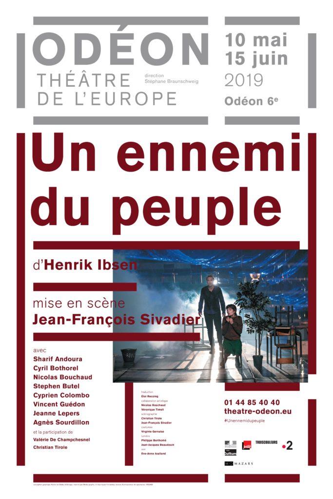Jean Francois Sivadier inonde merveilleusement l'Odéon avec Un ennemi du peuple de Henrik Ibsen.