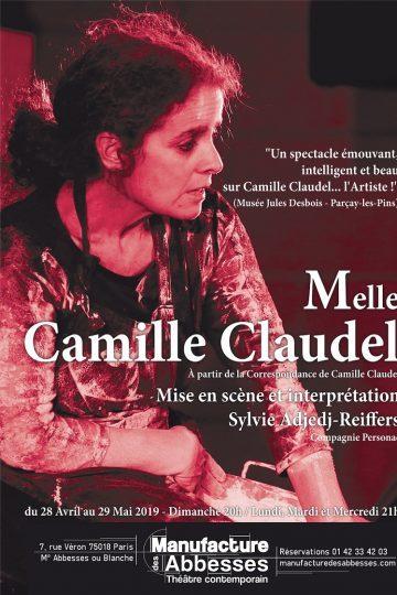 Sylvie Adjedj-Reiffers ressuscite Camille Claudel à la Manufacture des Abbesses