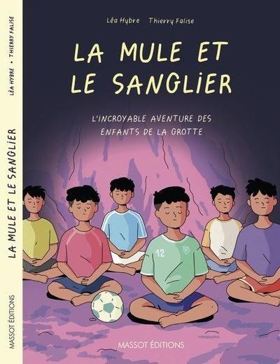 La mule et le sanglier, le roman graphique haletant de Thierry Falise et Léa Hybre