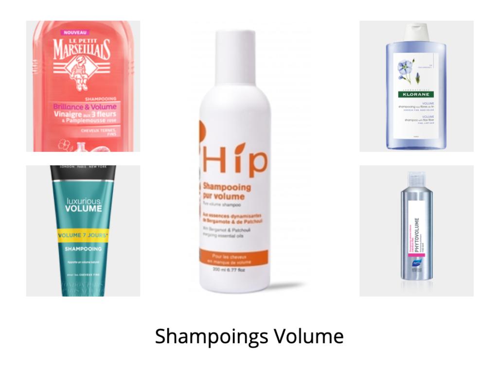Cinq shampoings voluminateurs à prix doux