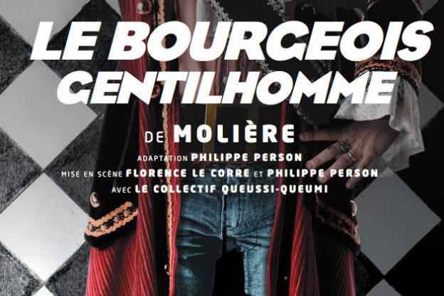 Au Lucernaire, le Bourgeois Gentilhomme adapté par Philippe Person est une hilarante pantalonnade.