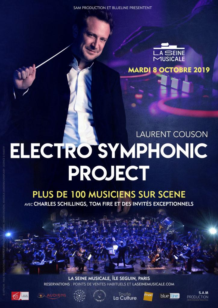 Laurent Couson à propos du Electro Symphonic Project à l'affiche de la Seine Musicale le 8 octobre : «