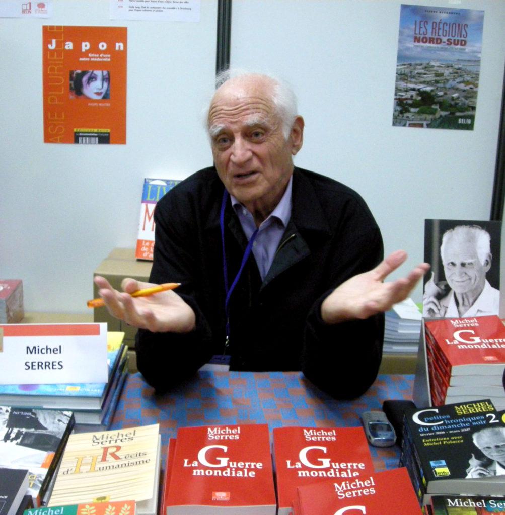 Mort de Michel Serres, philosophe du réel