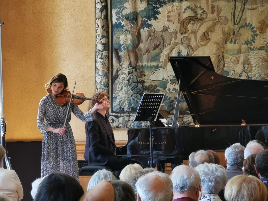 Diana Tishchenko et Zoltán Fejérvári, duo de choc au Festival de L'Epau