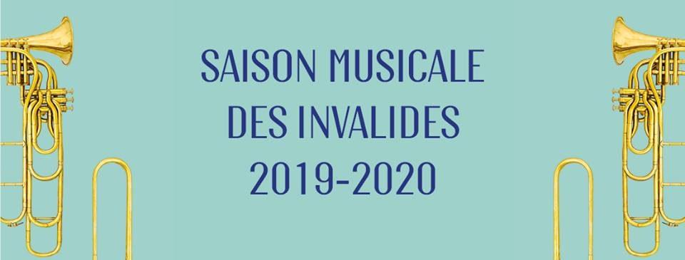 Saison 2019/2020 : Un arsenal complet d'armes musicales à l'Hôtel des Invalides