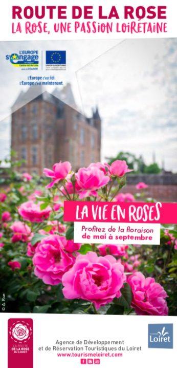 La Route de la Rose du Loiret ou le plaisir des sens