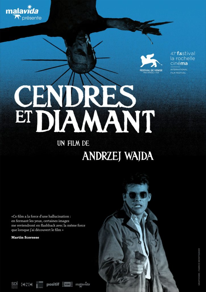 Cendres et Diamant,  le film culte d'Andrzej Wajda revient au cinéma