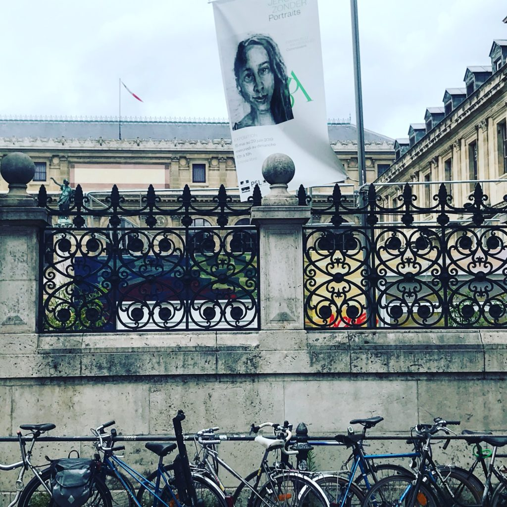 Jérôme Zonder expose ses portraits aux Beaux-Arts de Paris