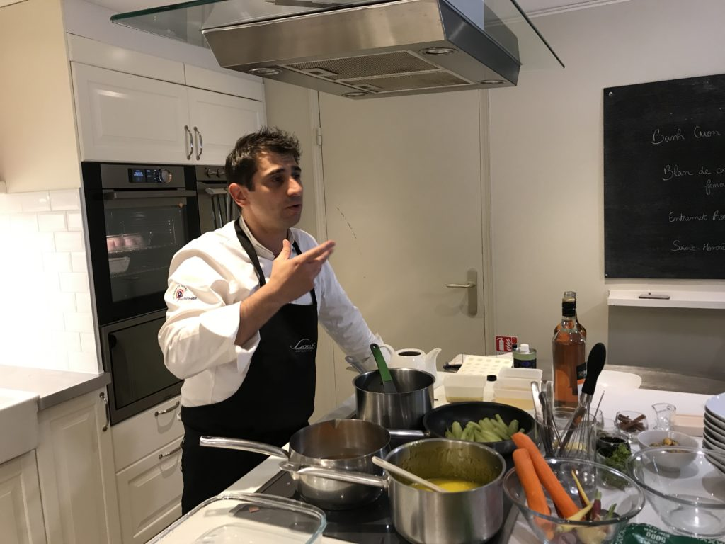 Une masterclass salée et sucrée par Stéphane Pitré et Frédéric Cassel pour une cuisine relevée par les alcools de la Maison Wolfberger