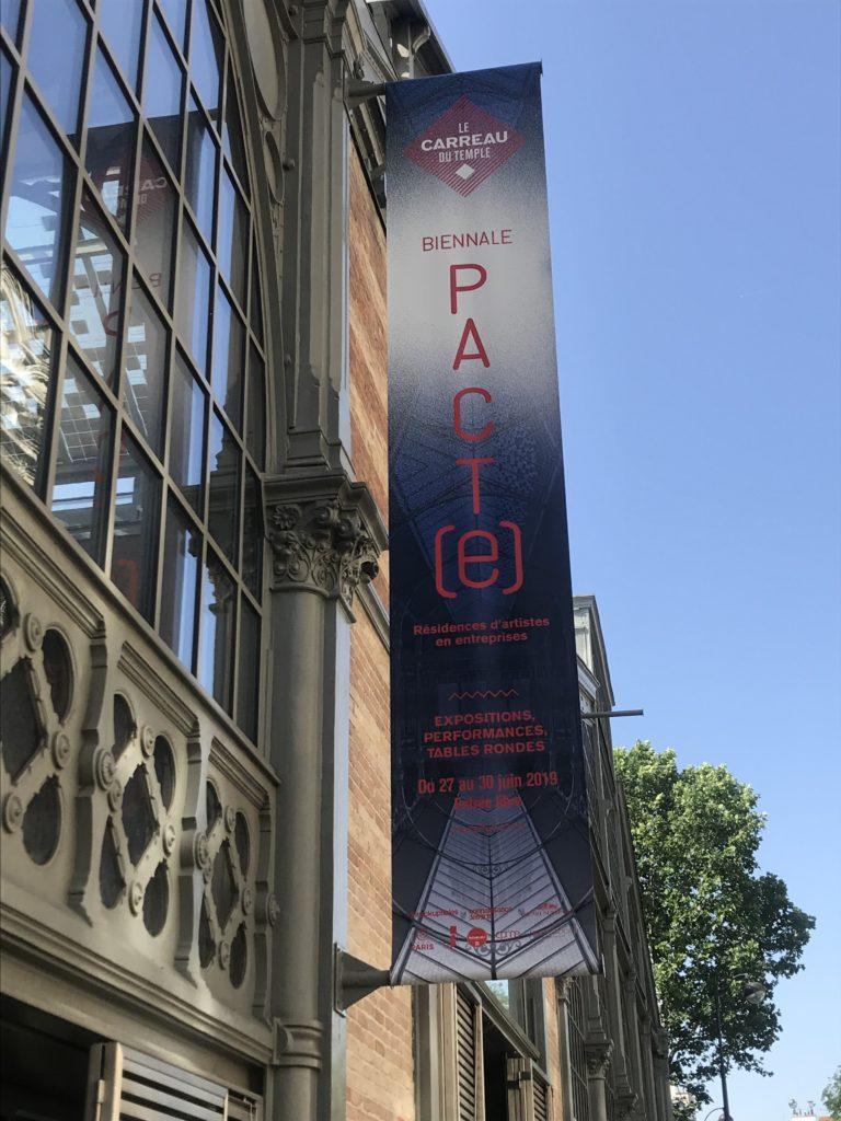 La Biennale PACT(e) met en avant les résidences d'artistes en entreprise