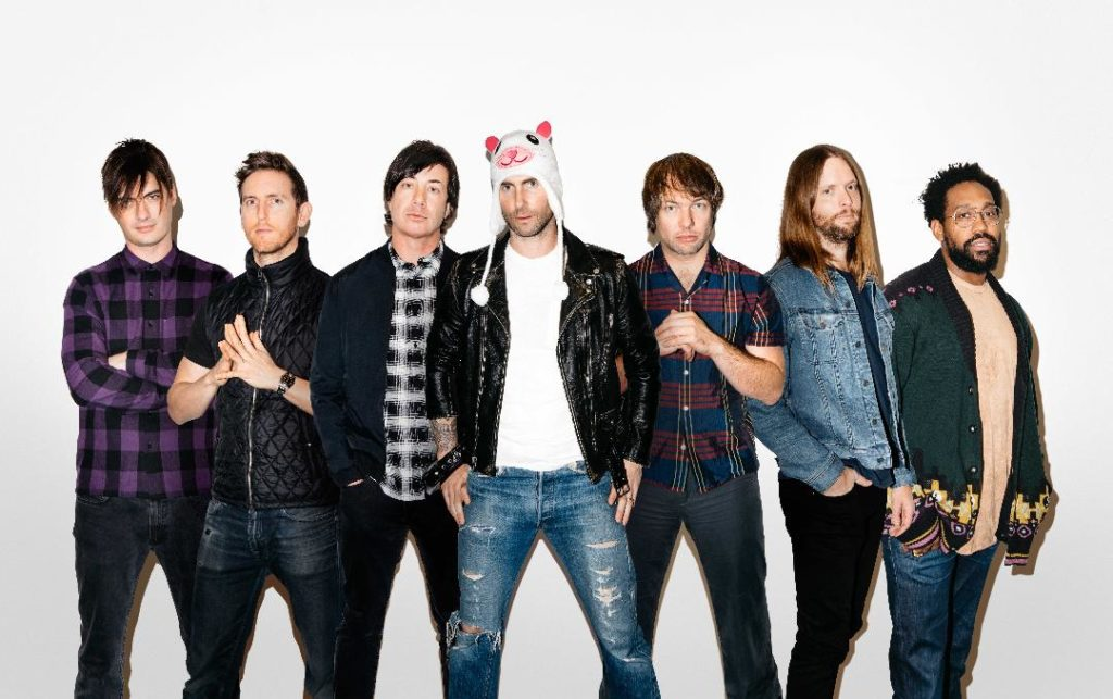 Les Maroon 5 embrasent l'AccorHotel Arena