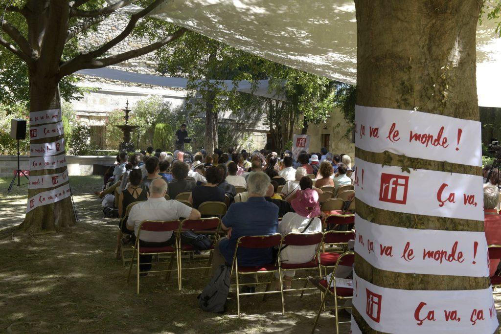 Quatre lectures au jardin au Festival d'Avignon
