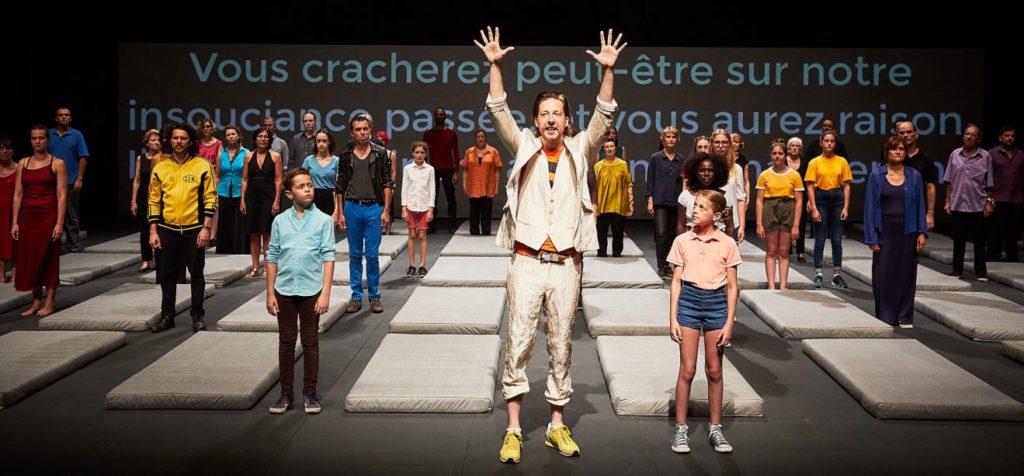 «Nous, l'Europe, banquet des peuples», la chorale des nations de Roland Auzet