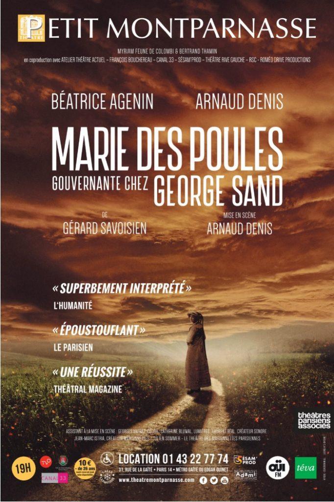 Marie des Poules Gouvernante chez George Sand: le parcours émouvant de deux femmes