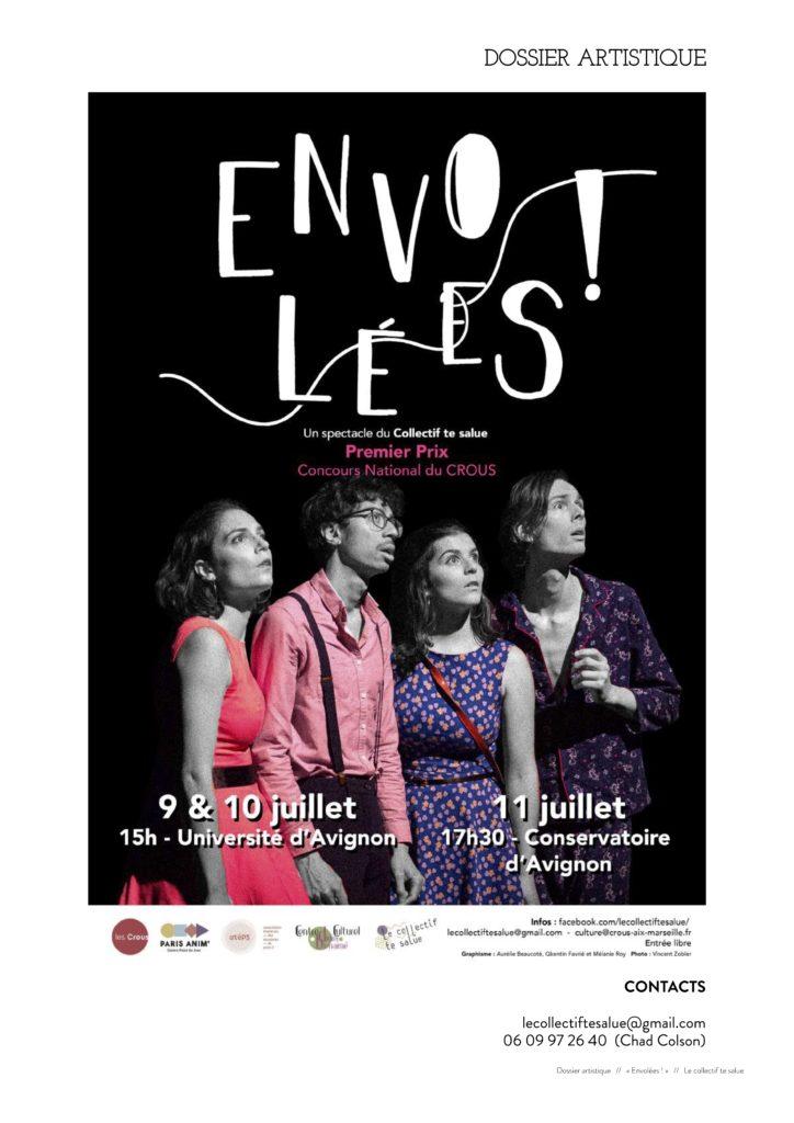 Festival d'Avignon 2019: «Envolées!», le théâtre en question