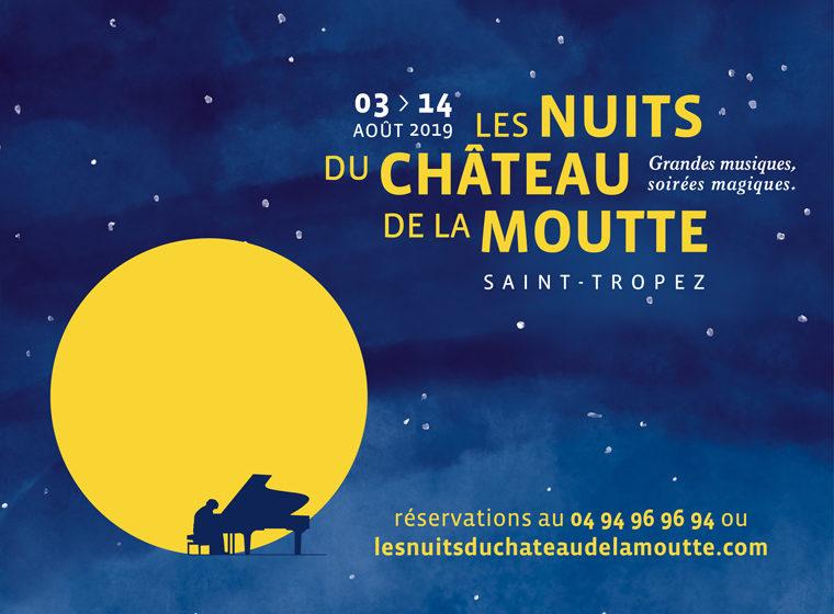 Gagnez 2 x 2 places pour le Festival les nuits du Château de la Moutte à St Tropez.