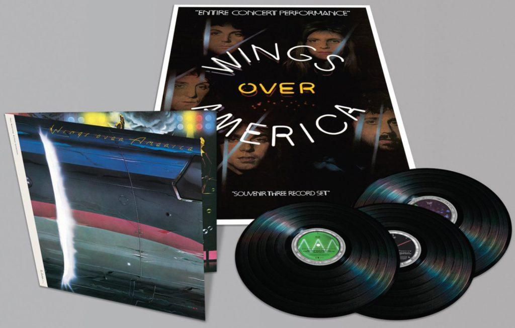 «Wings Over America»: Rééditions CD et vinyle 180 grammes de l'un de ces meilleurs albums Live.