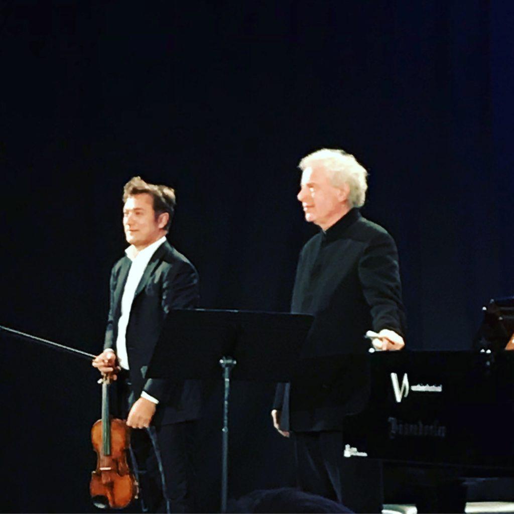 Andras Schiff et Renaud Capuçon : Duo magique au Verbier Festival
