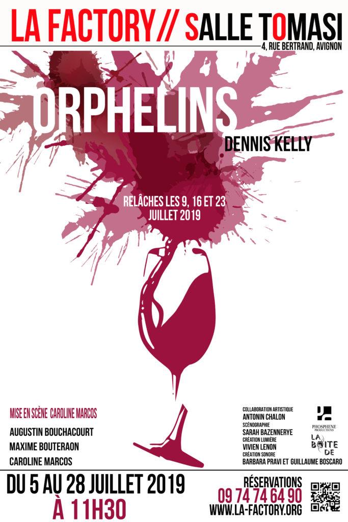 Avignon OFF 2019: «Orphelins», une première pièce exigeante pour une jeune compagnie