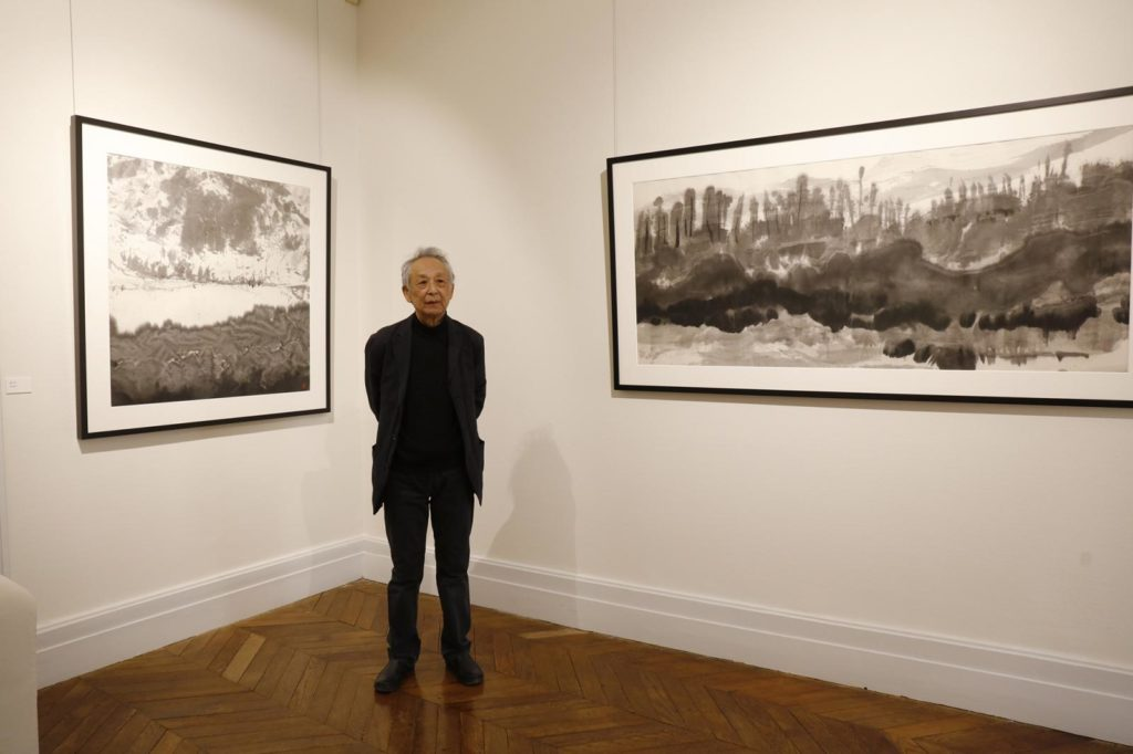 La Saison d'art du Domaine de Chaumont-sur-Loire accueille l'artiste Gao Xingjian