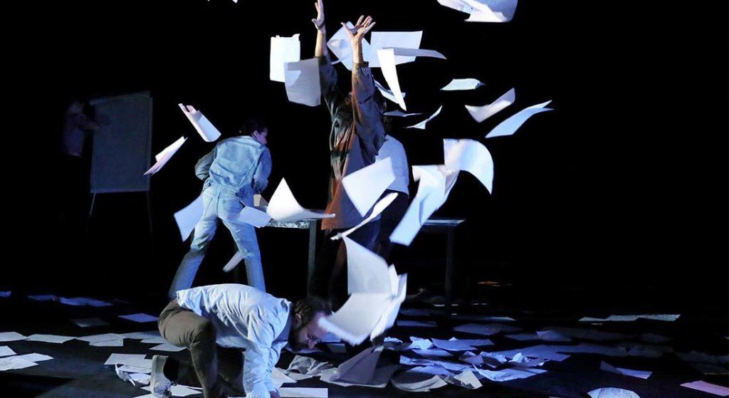 Avignon OFF 2019 : La bombe «En réalités» au Théâtre du Train Bleu