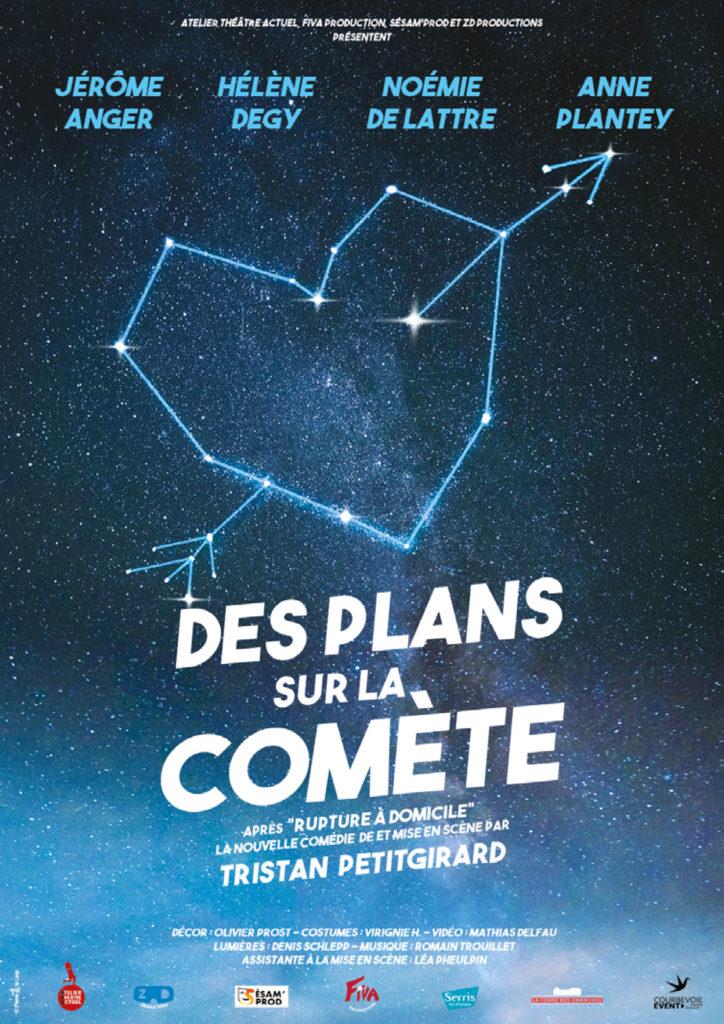 Avignon OFF : «Des plans sur la comète» de Tristan Petitgirard, le barbon du 21e siècle.