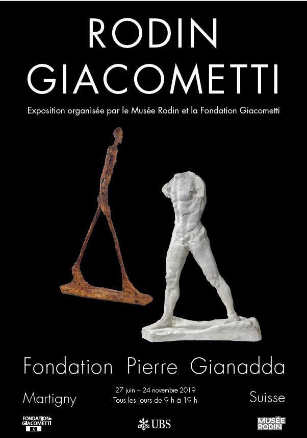 Rodin, Giacometti: Le choc des titans à la Fondation Gianadda