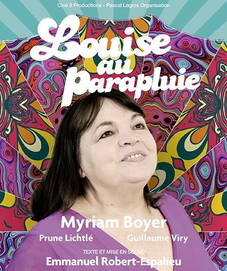 Avignon OFF : Myriam Boyer impressionne dans «Louise au parapluie»
