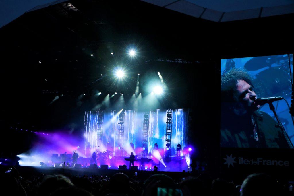 1er Jour du ROCK EN SEINE : The Cure en tête d'affiche !