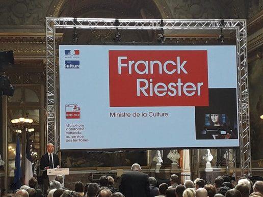 A Versailles, le ministère de la Culture présente un nouveau projet territorial : les Micro-Folies