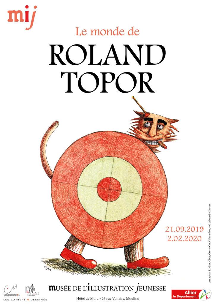 Roland Topor, la jeunesse éternelle au Musée de l'Illustration Jeunesse de Moulins
