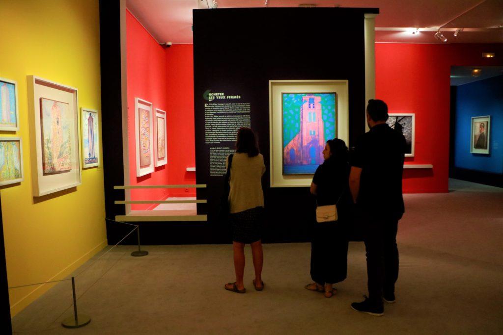 Mondrian Figuratif au Musée Marmottan-Monet