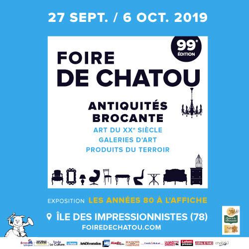 Fabien Lecoeuvre nous parle de l'édition d'Automne de la Foire de Chatou