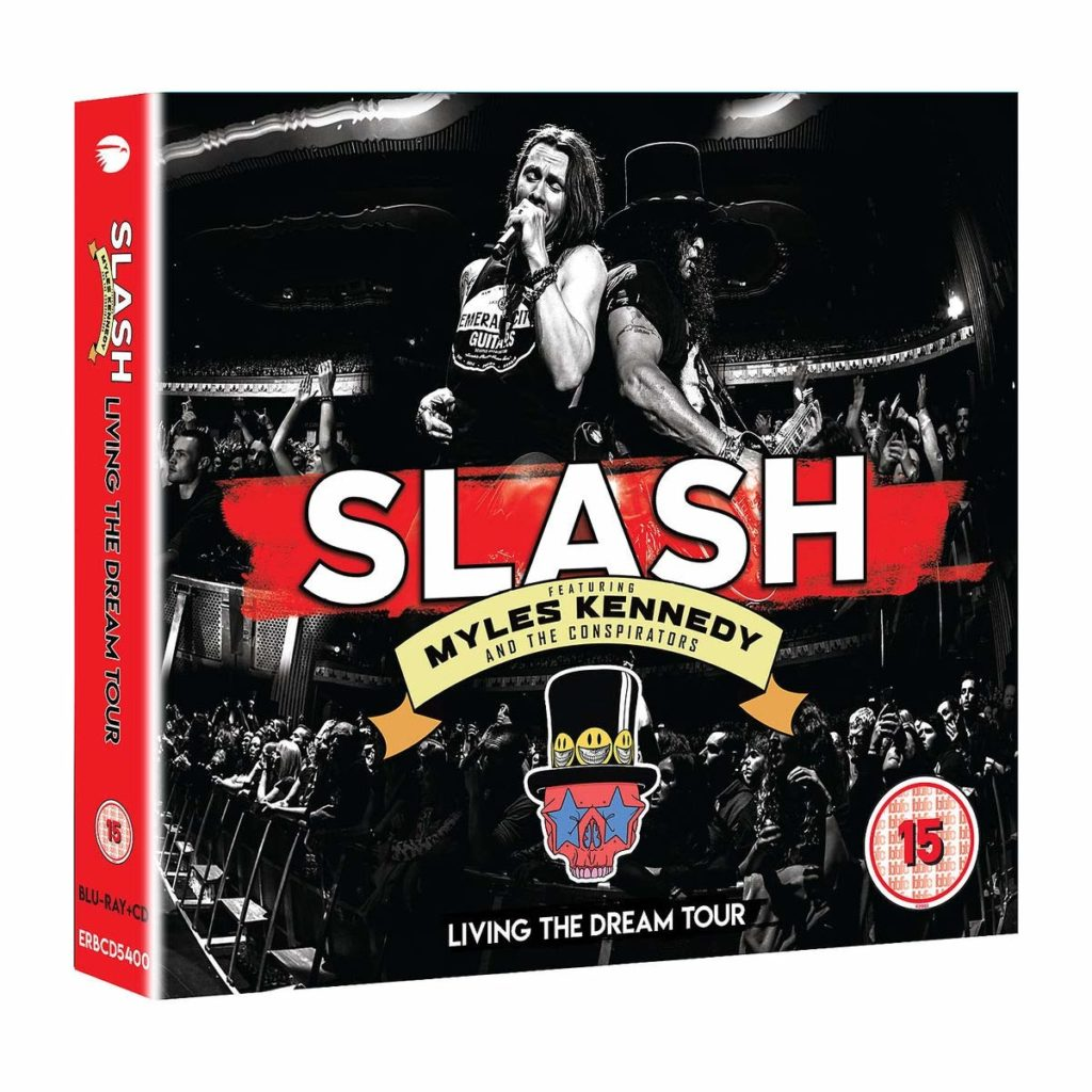Slash Featuring Myles Kennedy & the Conspirators « Living The Dream tour » : Un album live incendiaire !