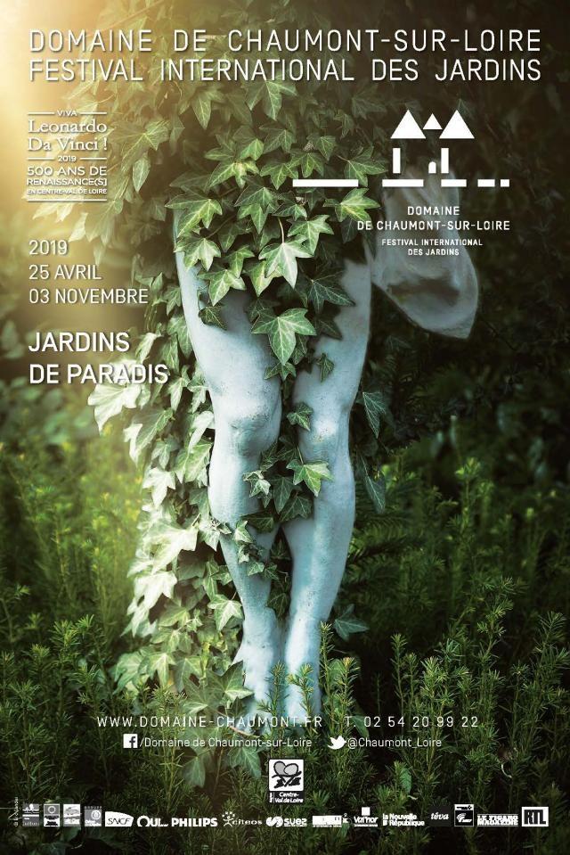 Les jardins éphèmères du Domaine de Chaumont sur Loire