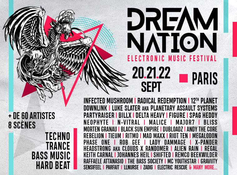 Gagnez 2 pass pour le festival Dream Nation 2019 (Paris)