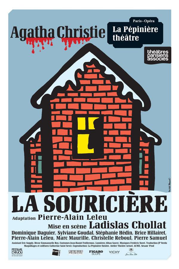 La souricière» et les trois petits cochons… au théâtre de la Pépinière jusqu'au 31 janvier 2020