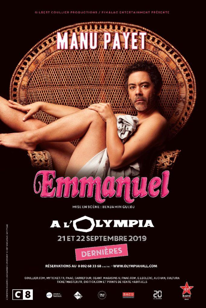 Manu Payet à L'Olympia pour les dernières de son spectacle « Emmanuel »