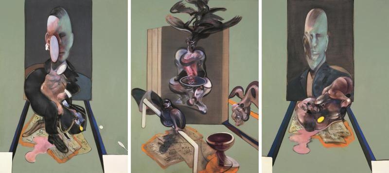 Dans la tête de Francis Bacon au Centre Pompidou