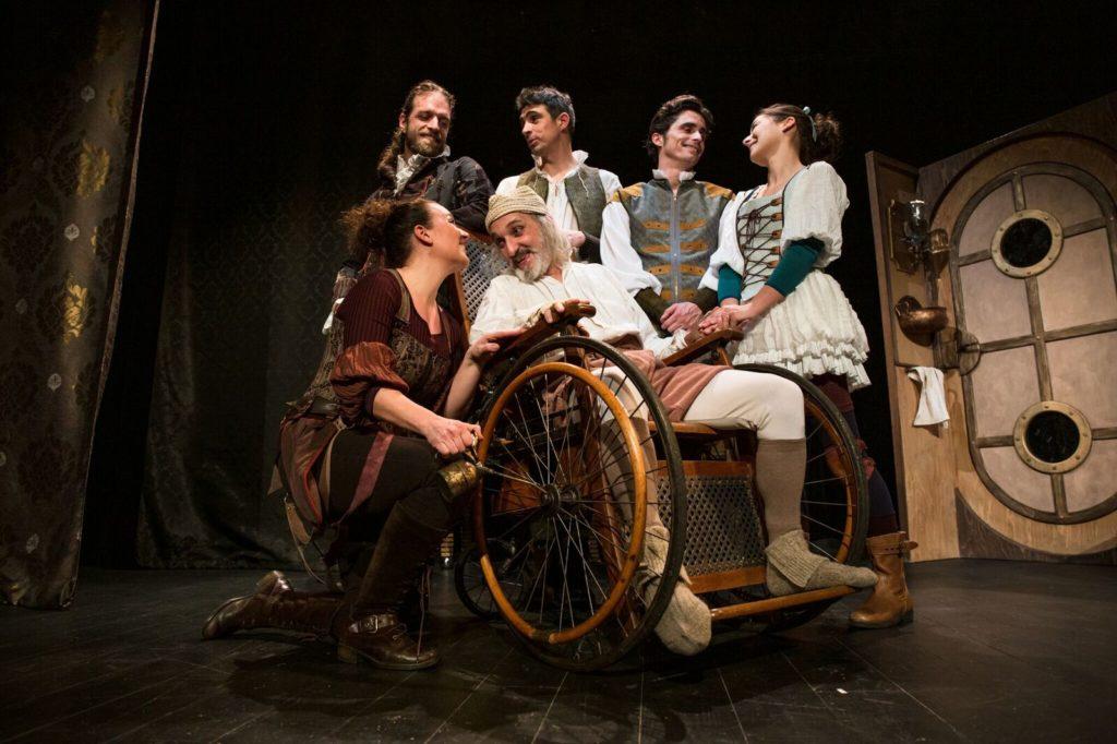 Le Malade imaginaire installe son fauteuil sur la scène du Théâtre 100 noms