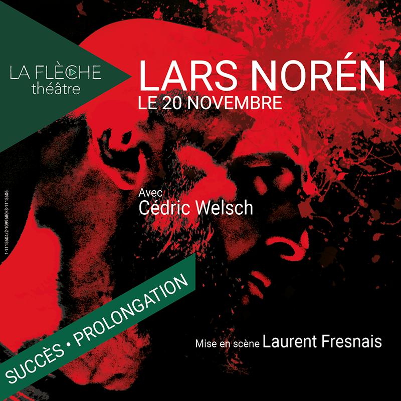 «Le 20 Novembre» de Lars Noren, un seul en scène rythmé d'une cruelle actualité à La Flèche