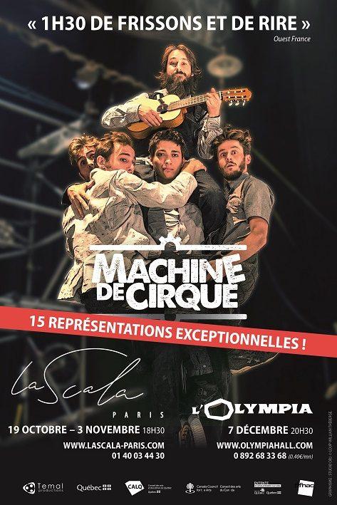 « Machine de Cirque » : des gags drôles et improbables enflamment la Scala de Paris !