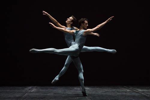 Silvestrin face à son maître, Forsythe, à l'Opéra de Paris