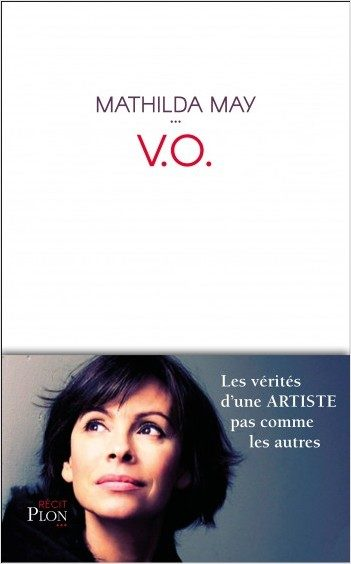 « V.O » de Mathilda MAY (Plon, récit)