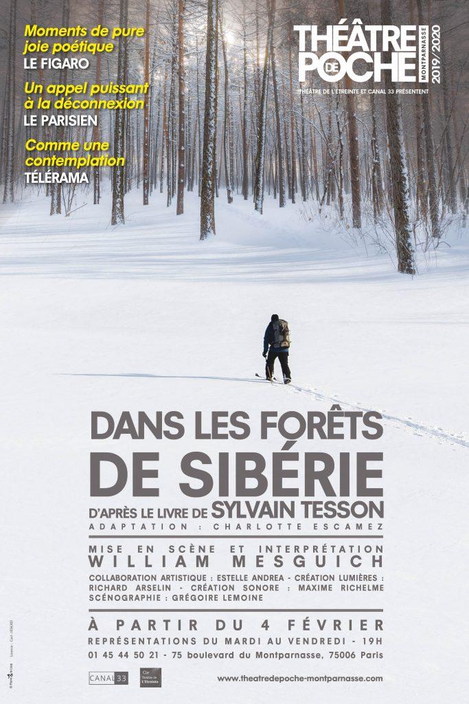 «Dans les forêts de Sibérie», le choc de deux titans : William Mesguich et Sylvain Tesson