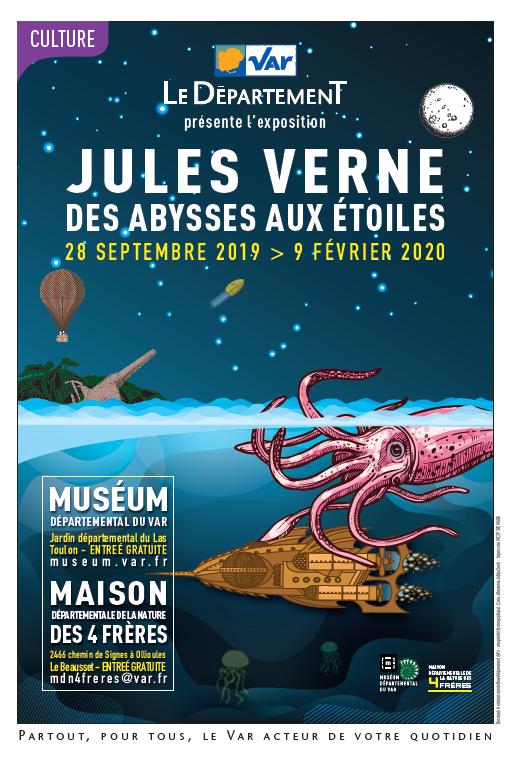 «Jules Verne, des abysses aux étoiles», un voyage extraordinaire en terres varoises