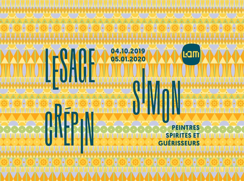 La peinture spirite s'invite au LaM dans une exposition qui rend hommage à trois artistes mineurs du Nord de la France !
