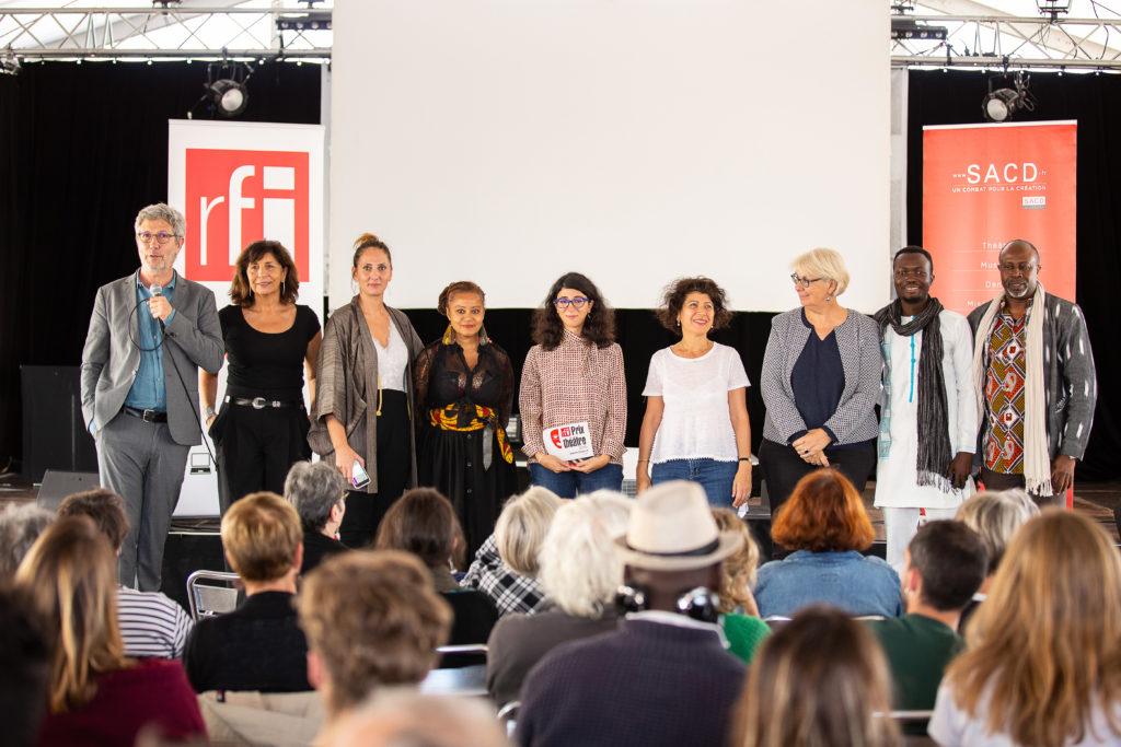 Les Prix SACD et Prix RFI étaient aux Francophonies 2019 !